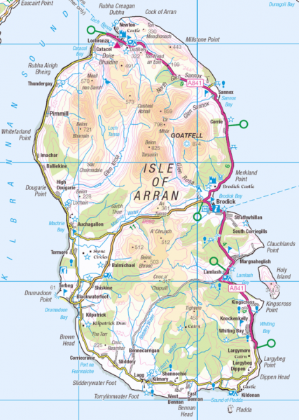 File:Isle of Arran OS OpenData map.png